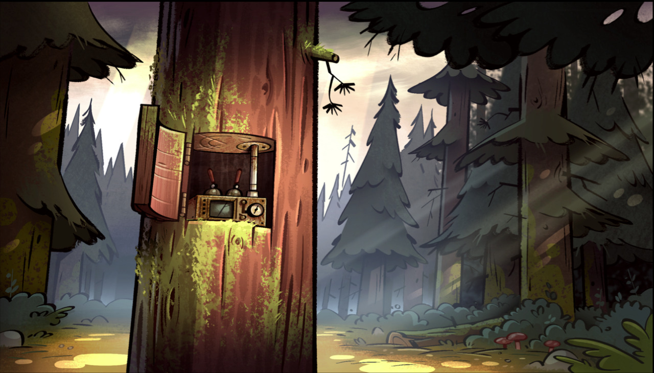 Gravity Falls Wallpaper Engine Gravi Team Falls Bg Paint For Into The Bunker Top