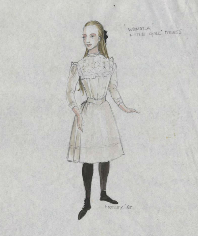 Costume design for Spring Awakening at the Royal Court Theatre - rental reference letter