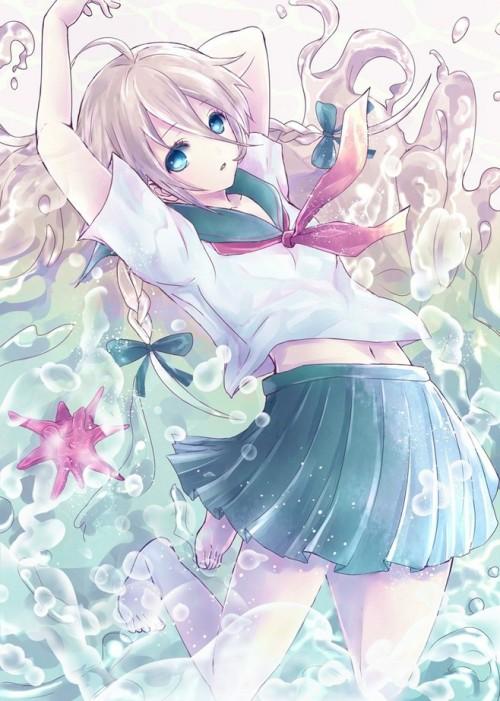 Hatsune Miku Rolling Girl Wallpaper Ia Vocaloid Tumblr
