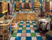 Liza Lou, Kitchen, 1991-96, mixed media room with ...