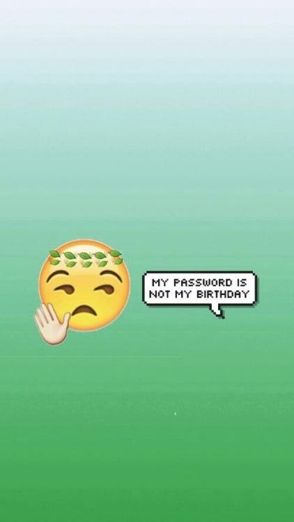Don T Touch My Phone Wallpaper Cute Emoji Pattern Tumblr