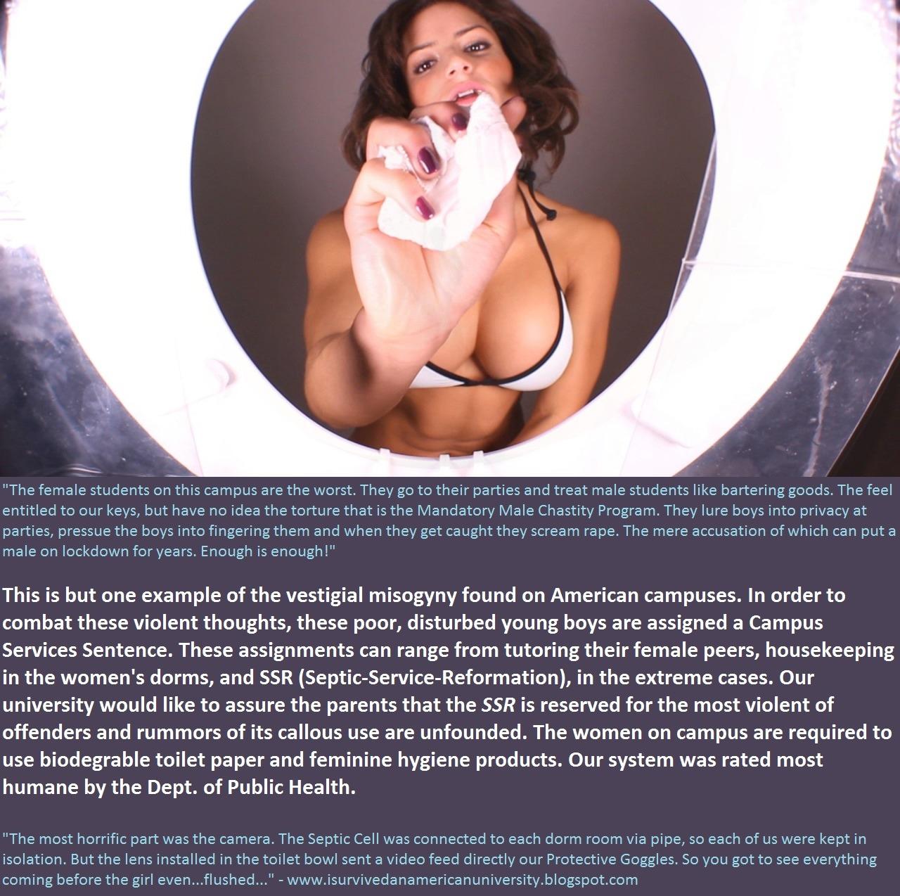 feminist slave captions