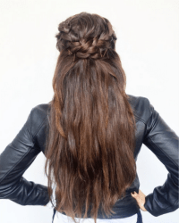 dutch braid tutorial | Tumblr