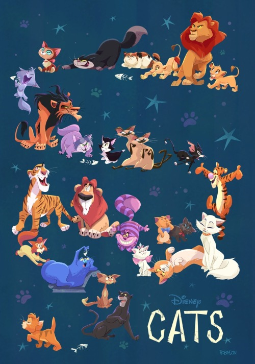 Cute Lion Cubs Hd Wallpapers The Big Reveal Of My Full Disney Cats Piece For