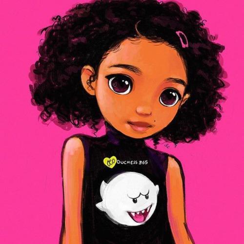 Cute Garnet Wallpaper Natural Hair Cartoon Tumblr