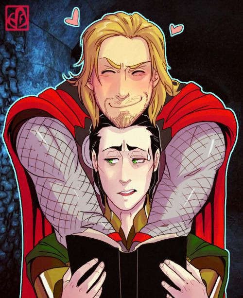 Cute Lemon Wallpaper Fuck Yeah Loki And Thor Hugging