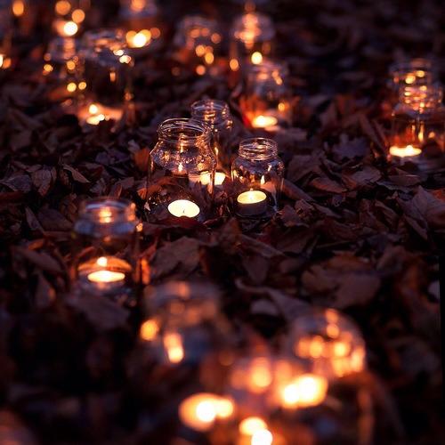 Seasonal Fall Coffee Desktop Wallpaper Mason Jar Candles Tumblr