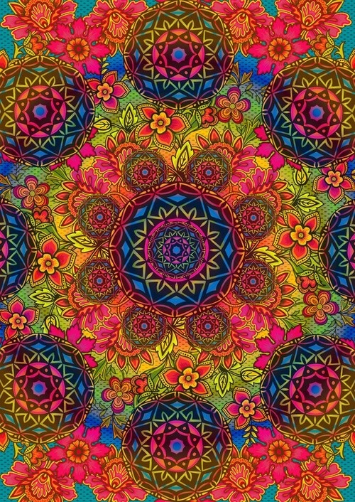 Lsd Trip Wallpaper Hd Flower Art Psychedelic Art Tumblr