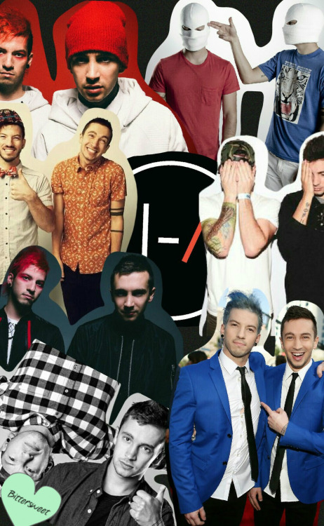 Twenty One Pilots Cute Wallpaper Twenty One Pilots Collage Tumblr