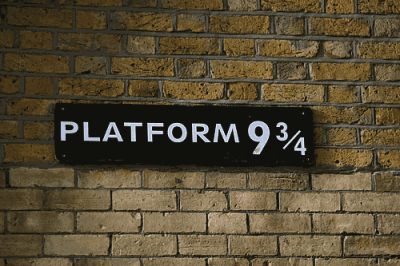 platform 9 and 3 quarters on Tumblr