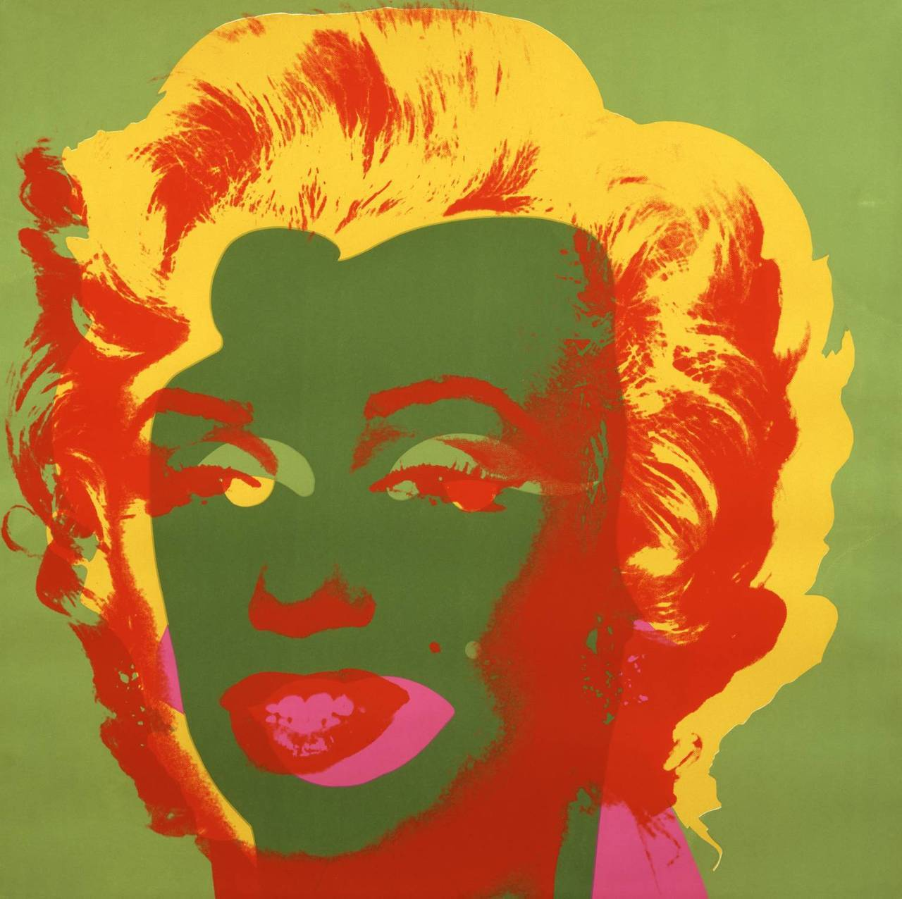 Marilyn Pop Art Andy Warhol Artpedia Andy Warhol Untitled Marilyn 1967