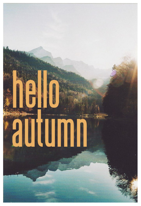 Cute Wallpapers Boy And Girl Hello Autumn On Tumblr