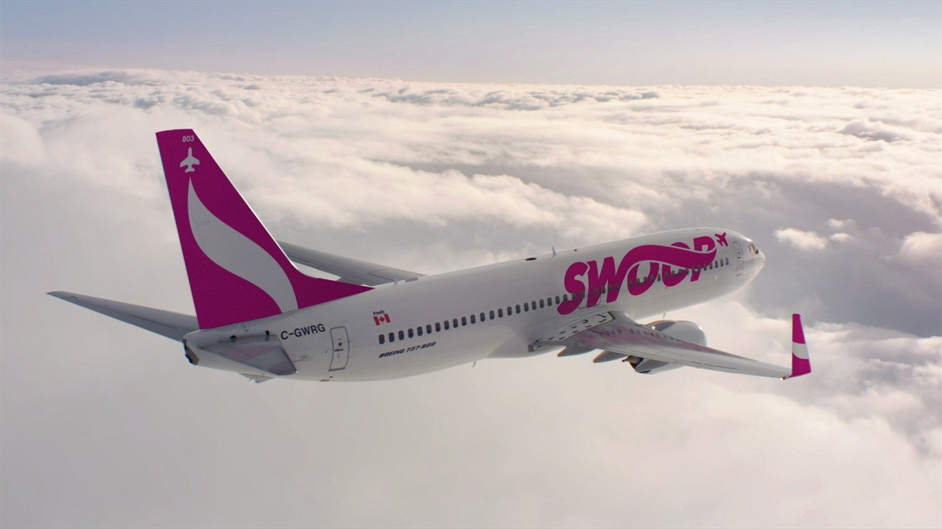 Flights With West Jet Westjet Airlines Says Discount Carrier Swoop To Begin Service On