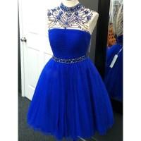 Homecoming Dresses Short Prom Dresses,royal Blue ...