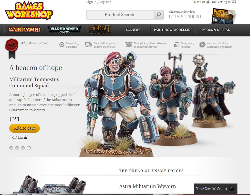 Games Workshop Games Workshop 6 Inch Move