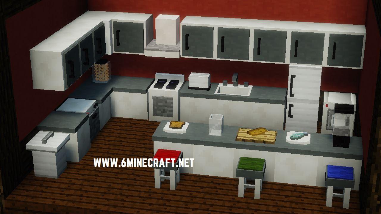 minecraft mrcrayfish furniture mod minecraft furniture mod minecraft furniture kitchen designer survival kitchen