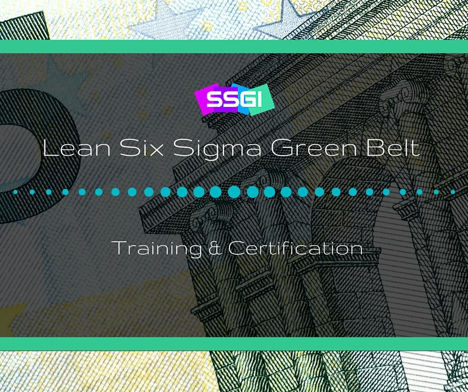 lean six sigma black belt training materials pdf