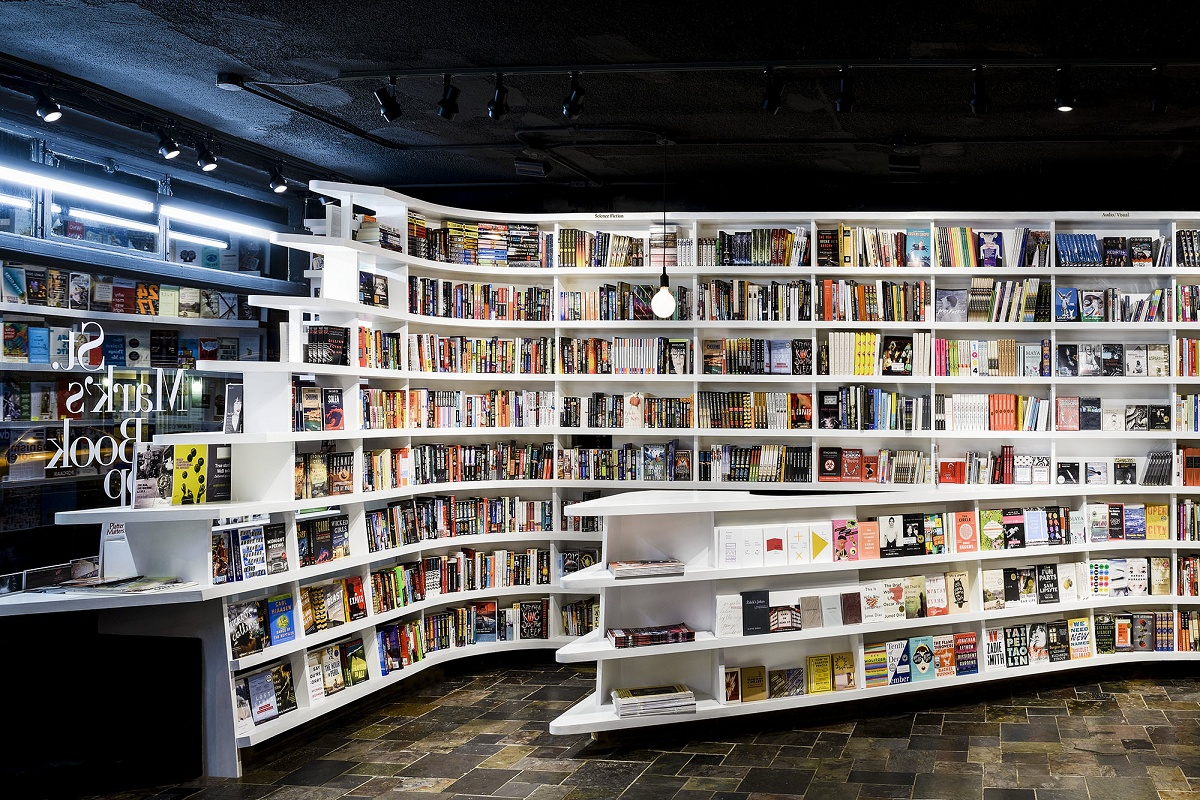 Moderne Stores New St Mark 39s Bookshop Is A Quottwist Quot On An Old Favorite