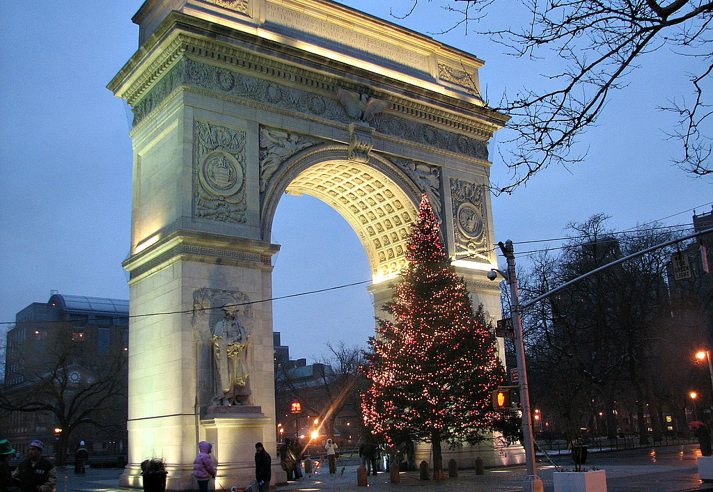 Rockefeller Tree Lighting Traffic O Christmas Tree: Where To See The Biggest Evergreens Around Nyc | 6sqft