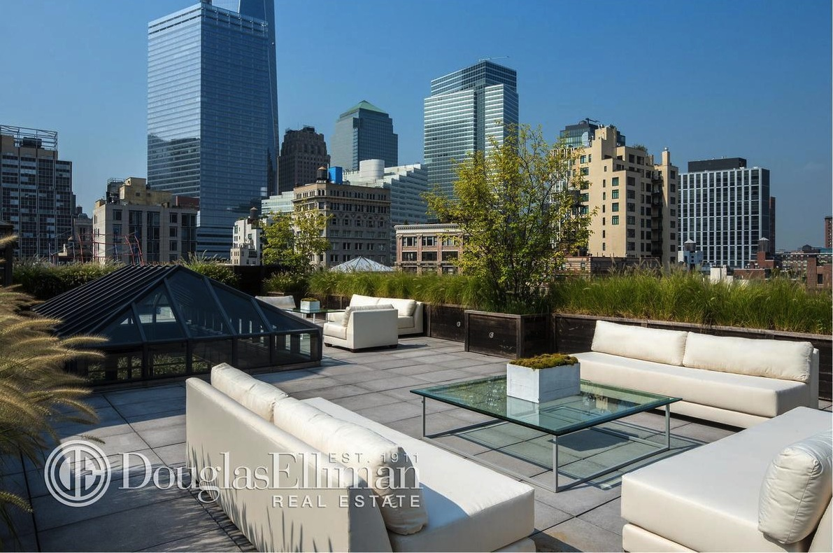 Hotel Toit Terrasse New York Former Tribeca Mansion Now Holds Spectacular Triplex