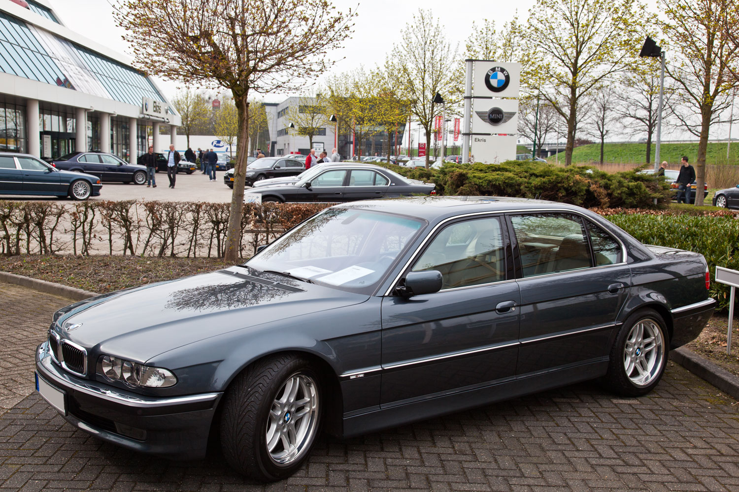Anthrazit Metallic Bmw Foto Bmw 750il E38 Baujahr 12 1999 In Anthrazit Metallic