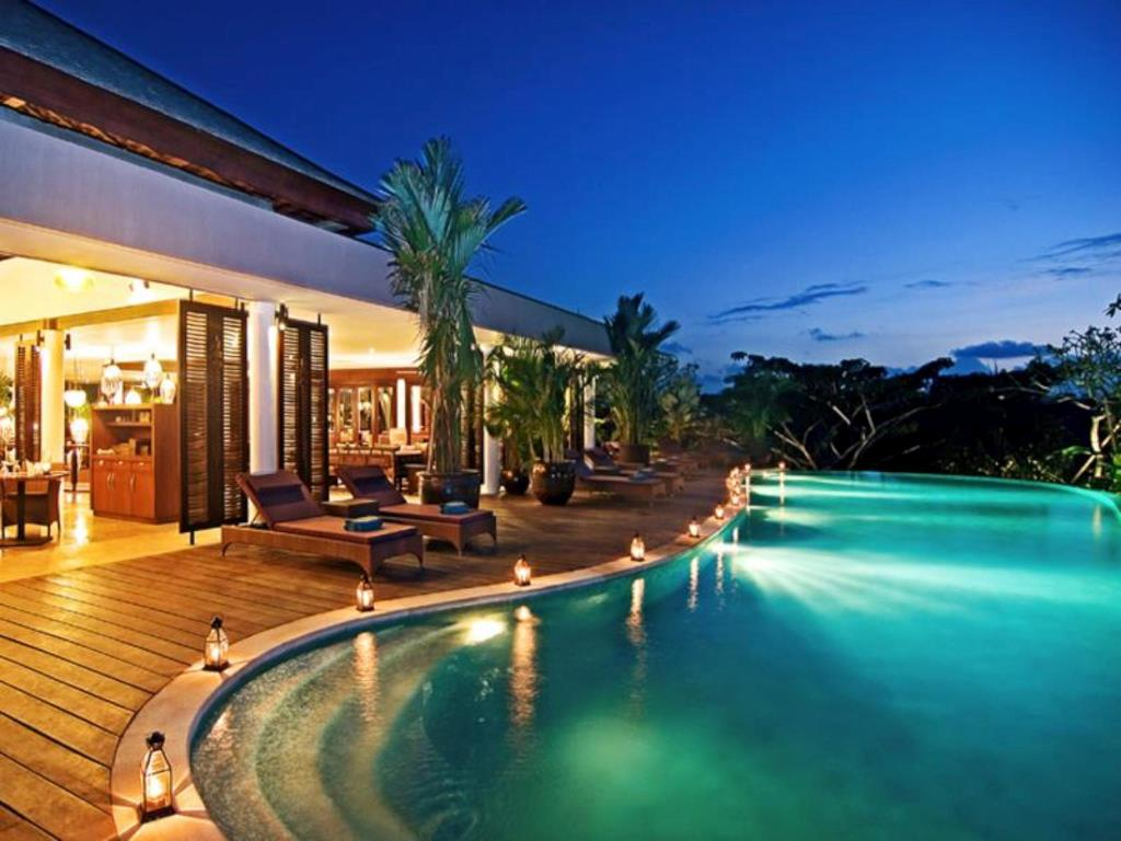 Jacuzzi Pool Villa Bali Selected Bali Honeymoon Villas