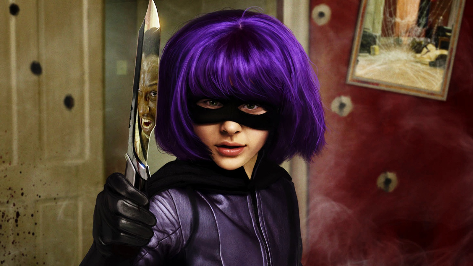 Sincere Girl Wallpaper Hit Girl In Kick Ass Post In 1600 215 900 Pixel You Can