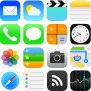 iOS-7-Style-Icons-Vector Apple Iphone Christmas Commercial 2013