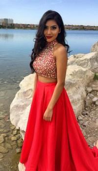 Red Satin Prom Dresses - Eligent Prom Dresses