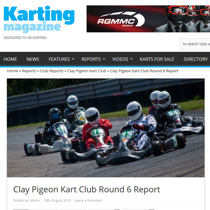 Clay Pigeon Kart Club Round 6 Report