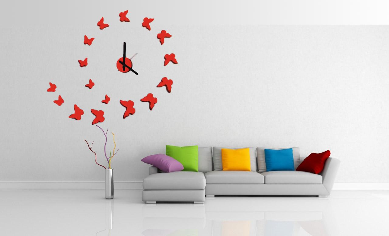Interior Decor Wall Clock