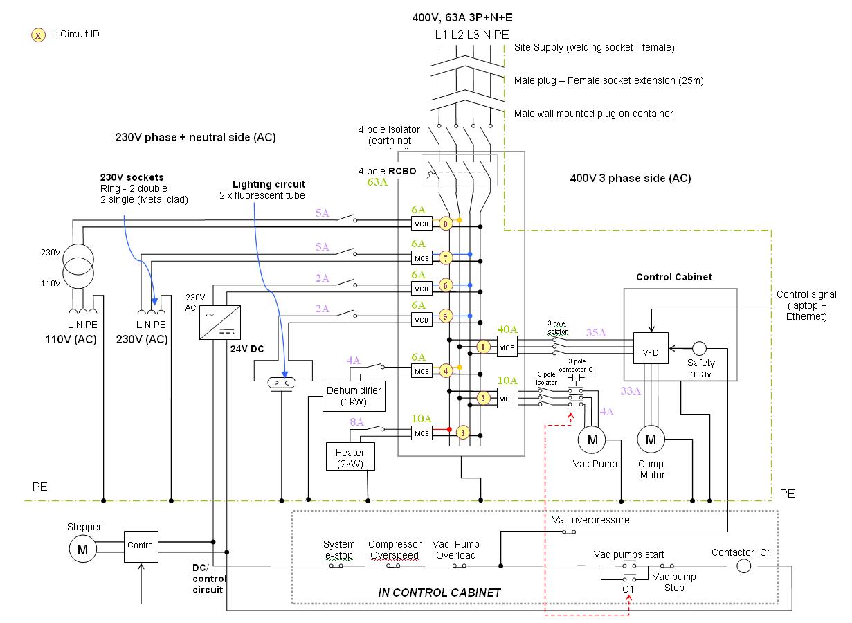 230v single phase vfd wiring diagram