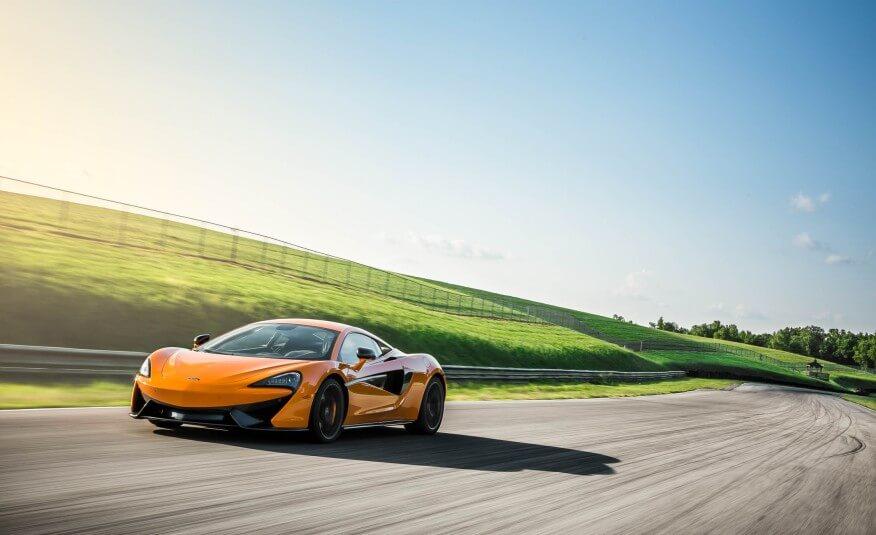 McLaren Hollywood Exotic Car Rental