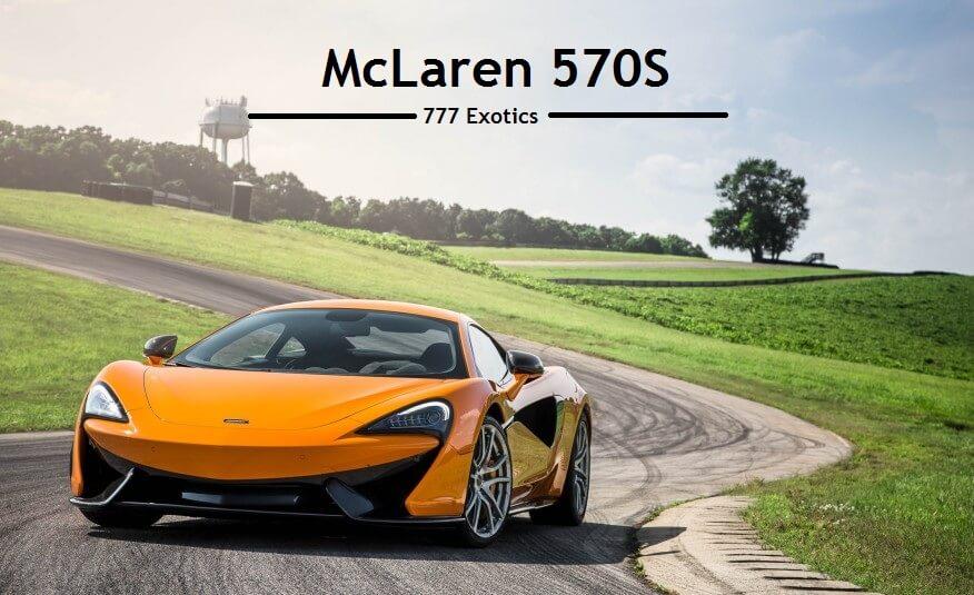 Exotic McLaren Rental California