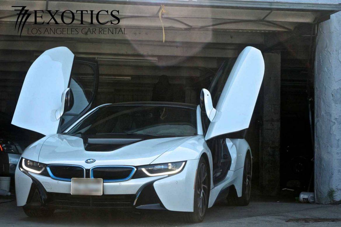 777 Exotics BMW i8 Rental
