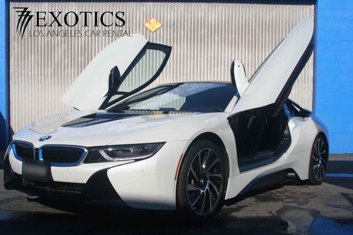 Rent BMW i8 Hollywood
