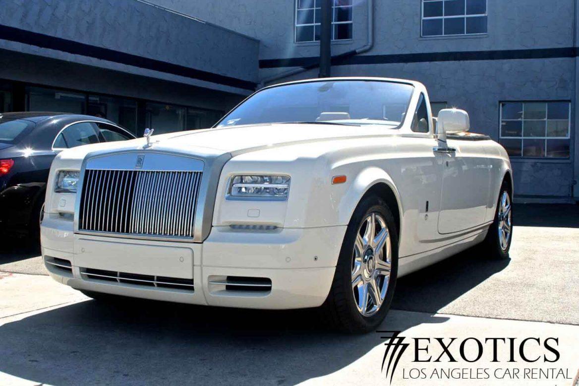 Rent Rolls Royce Los Angeles