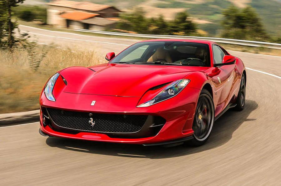 Ferrari 812 Superfast Rental