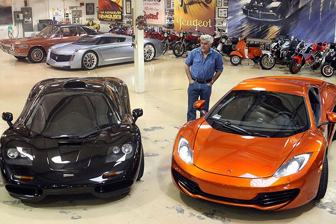 "Jay-Leno-McLaren-favorite-cars James Douglas Muir ""Jay"" Leno owns 181 cars"