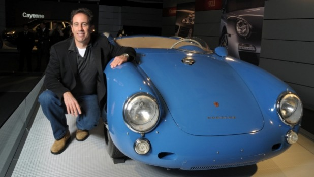 1459342323763 Jerry Seinfeld is love-struck with a German car. Of his 10-car strong collection