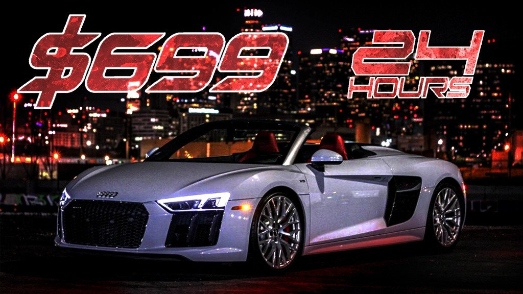 Audi R8 Convertible   Exotic and Luxury Car Rental Los Angeles