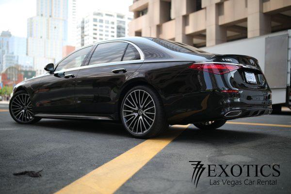 MBZ-S580-rear-corner-view-600x400 Mercedes Benz S580 Rental Los Angeles