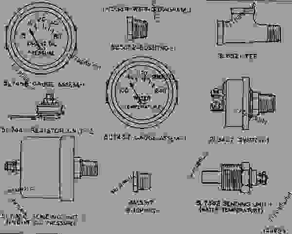 caterpillar tachometer wiring