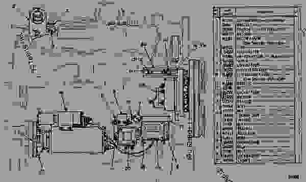 wiring diagram engine generator set caterpillar 3150 3150 engine