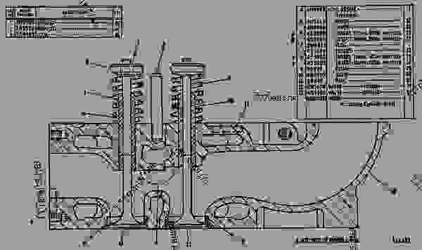 caterpillar 3406 parts diagram