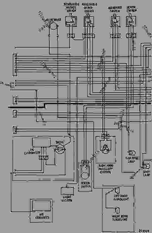 Caterpillar Tachometer Wiring Diagram Schematic Diagram Electronic