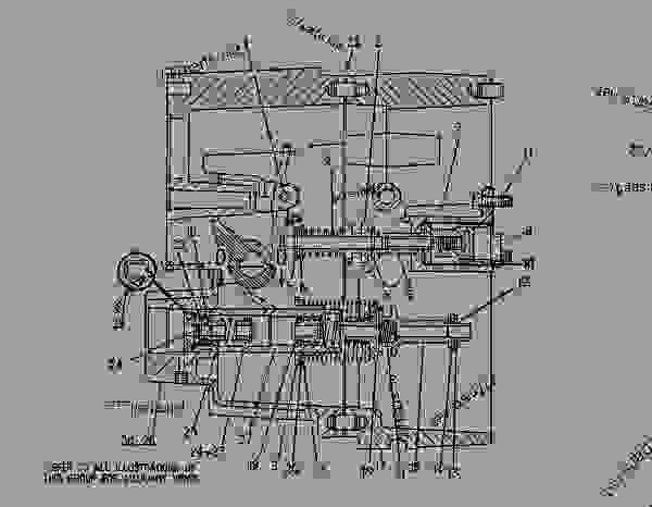 starter wiring diagram cat machine