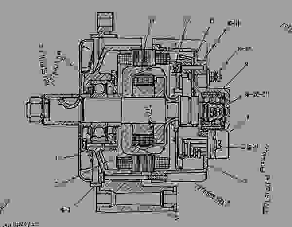 cat 3116 alternator wiring diagram