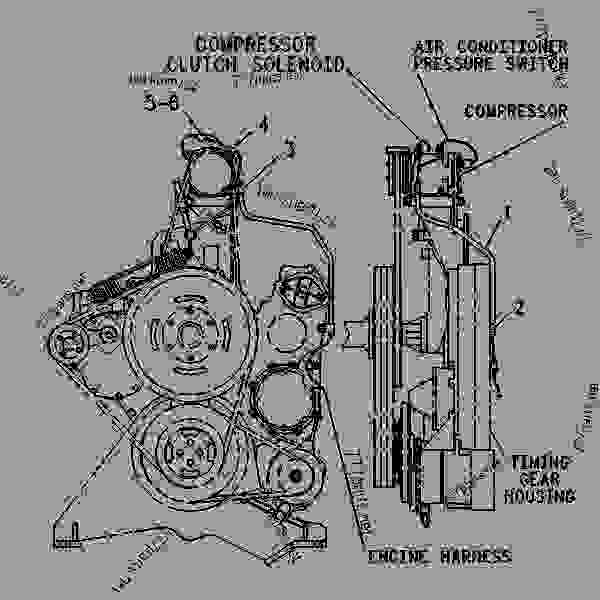 caterpillar 3306 engine diagram
