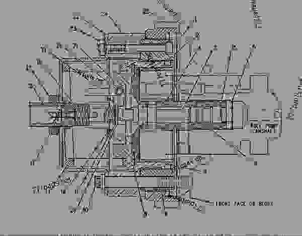 3406a cat manual fuel pump diagram